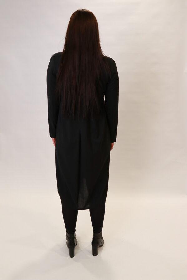 """""""Elemente Clemente"""" melna kleita"""