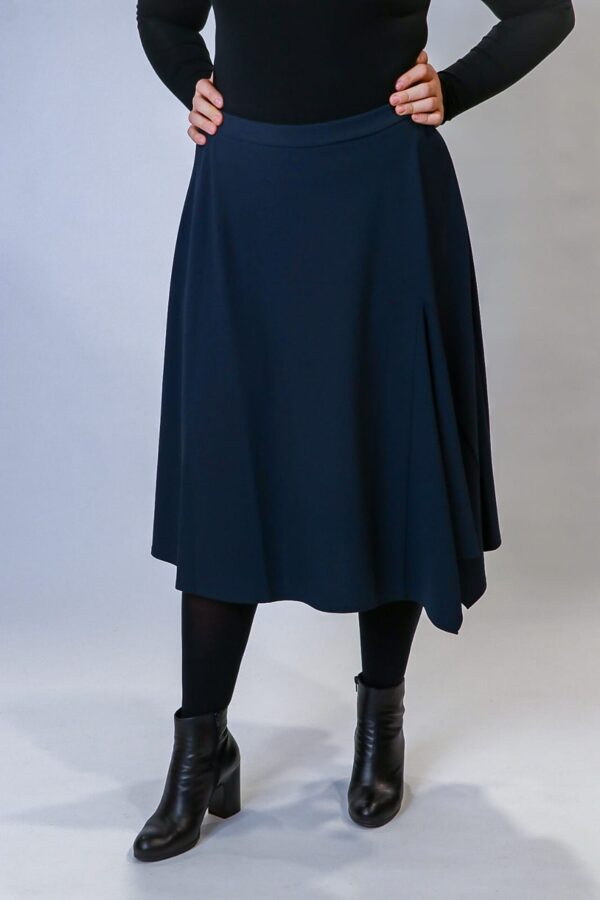 """Betty Barclay"" tumši zili svārki"