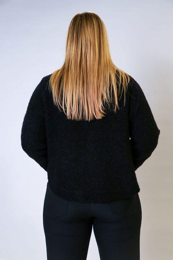 """""""Oui"""" melns džemperis"""